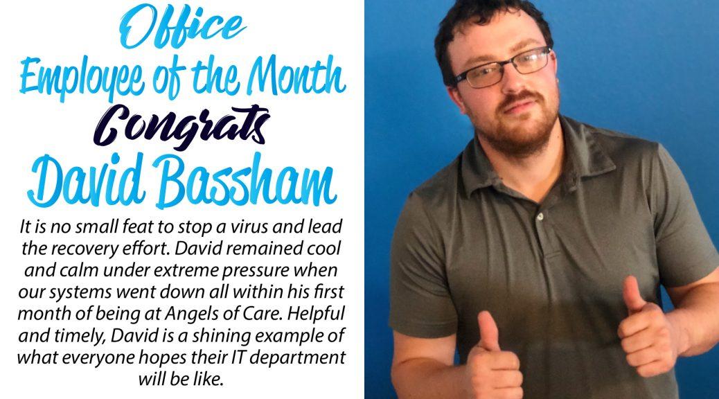 David Bassham - Angels of Care Employee